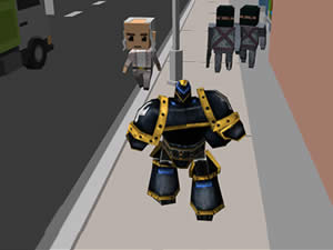 Robot City Simulator