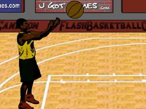 Flash Basket Game