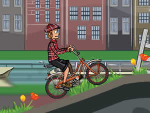 Biking Amserdam