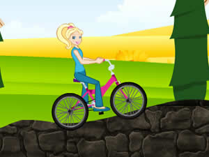 Polly Pocket Bike Ride