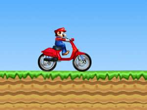 Mario Bros Motorbike