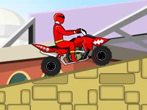 Power Rangers Red ATV