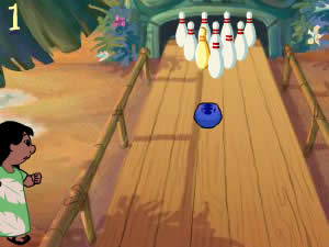 Stitch Tiki Bowling