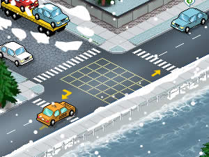 Traffic Policeman Winter Edition
