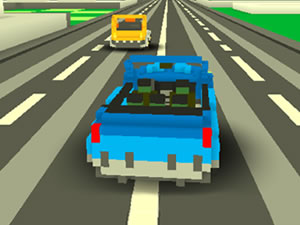 Blocky Traffic Racing