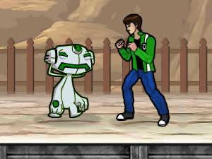 Ben10 Street Fight