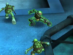 Ninja Turtles Tactics 3D
