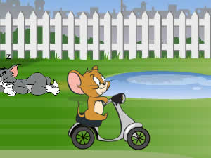 Tom And Jerry Backyard Ride