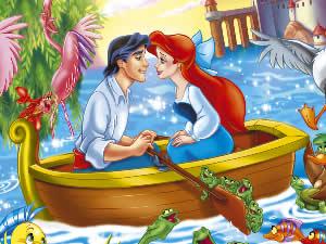 Mermaid Online Coloring Page