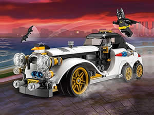 Batman Lego Car Differences