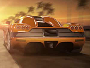 3D LA Super Cars