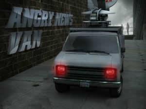 Angry News Van