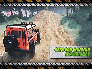 Offroad Crazy Prado Simulation Game