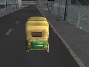Tuk Tuk City Driving Sim