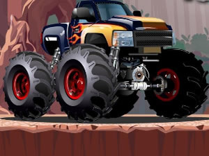 Crazy Monster Truck HTML 5