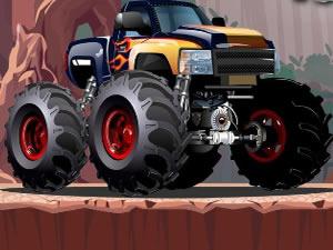 Crazy Monster Truck HTML 5