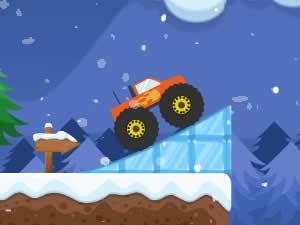 Monster Truck Winter Jump