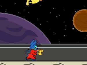 Stich's Galactic Escape
