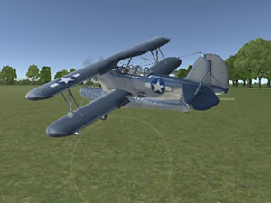 3D Flight Simulator