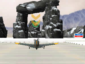 Snowy Mountains Flight Stunts
