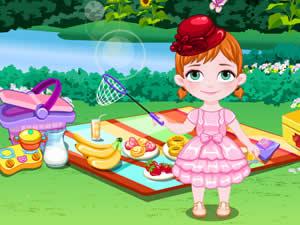 Baby Anna Picnic Day