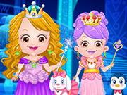 Baby Hazel Ice Princess Dress Up