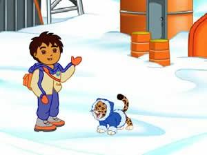 Dora and Diego Arctic Rescue