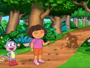Dora Find the Puppy