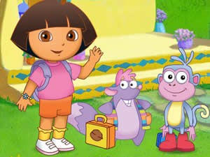 Dora the Explorer: First Day at School