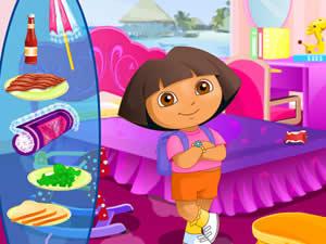 Dora Go Camping
