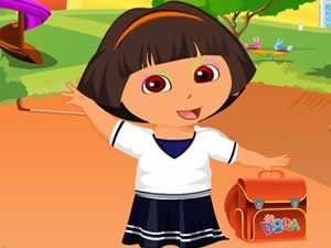 Dora go to School