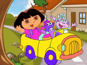 Dora in Gem Land