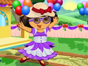 Dora Party Birthday Dress Up