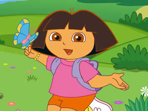 Dora's Magic Paintbrush