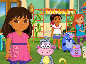 Dora and Friends: Rainforest Rescue