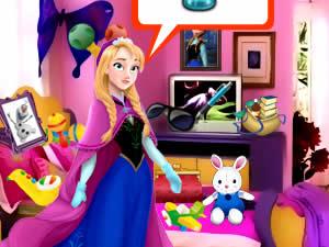 Elsa Bedroom Hidden Objects