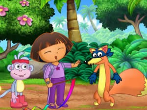 Dora Fantastic Gymnastic Adventure