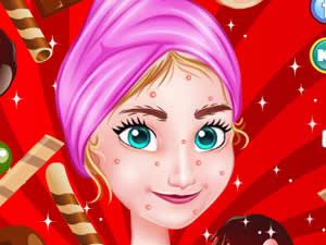 Frozen Anna Chocolate Spa