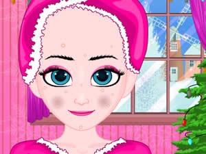 Frozen Elsa Christmas Makeover