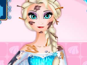 Messy Elsa