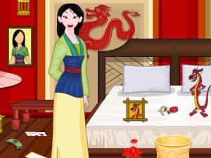 Princess Mulan Room Cleaning