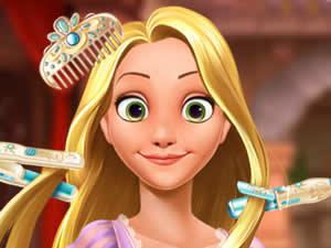 Rapunzel Princess Fantasy Hairstyle