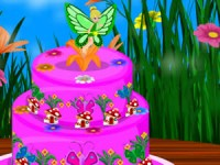 Tinkerbell Birthday Cake Decor