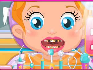 Baby Lizzie At Dentist