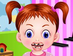 Baby Emma Dentist