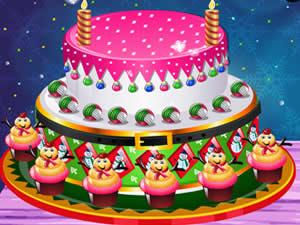 Creamy Christmas Cake