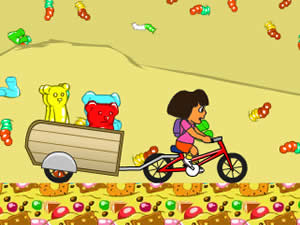 Dora and Gummy Game