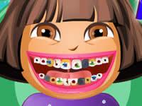 Dora at Dentist
