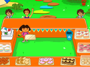 Dora the Explorer Cake Berry