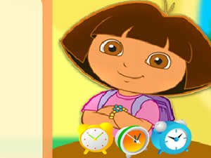 Dora Fun Clocks